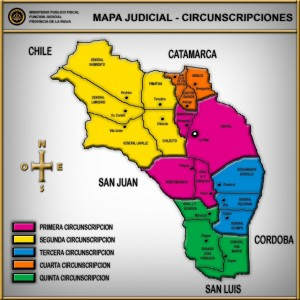 mapa judicial